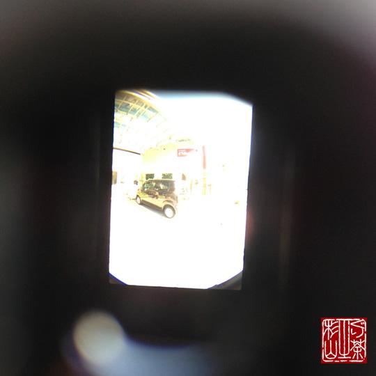 魚眼レンズ ファインダー