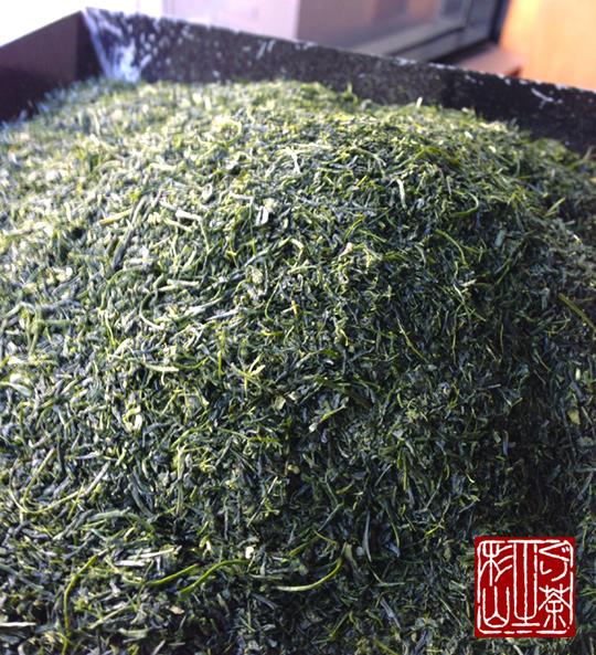 2013年度新茶 鹿児島県頴娃産ぐり茶