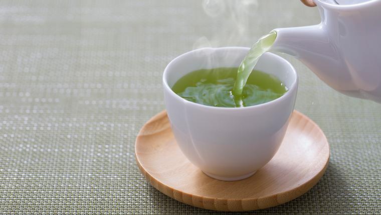 美味しい水で淹れるお茶